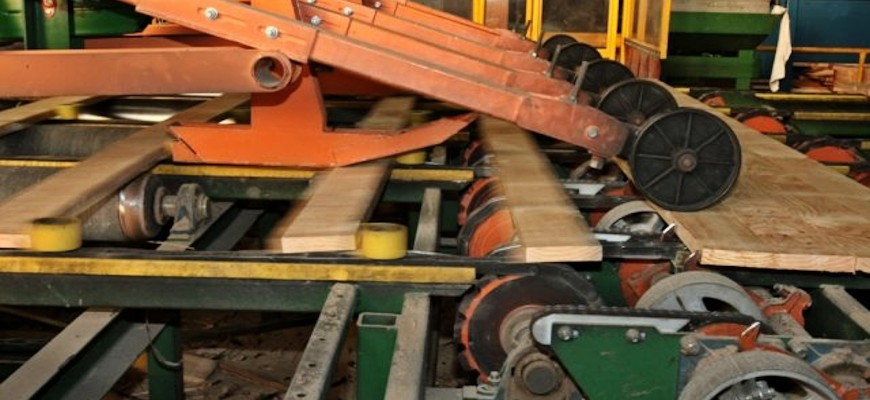 Timber machinery
